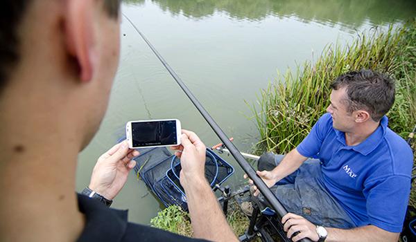 рыбалка с deeper fishfinder