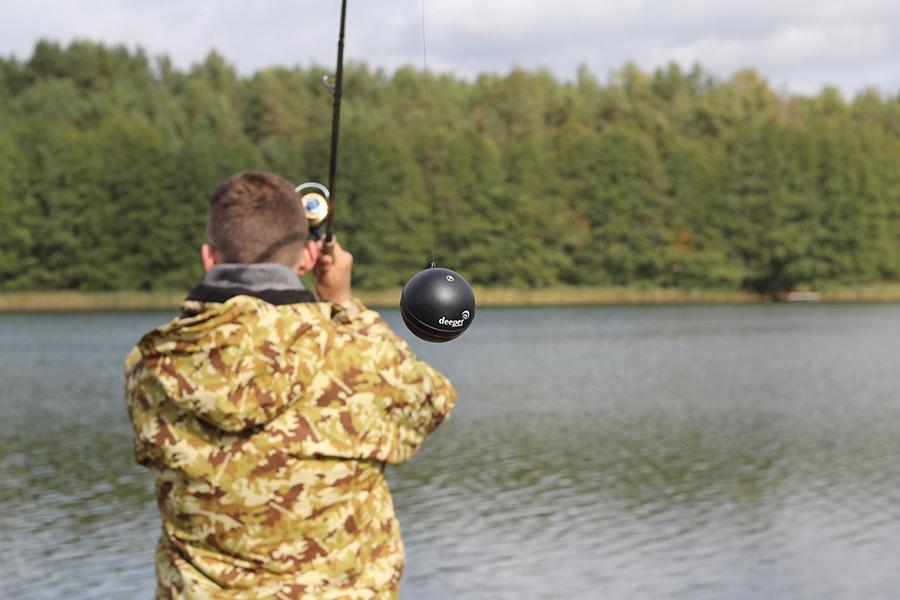 как пользоваться эхолотом для рыбалки с берега